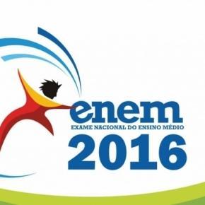 Slogan da prova do ENEM 2016 que será realizado nesse final de semana