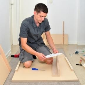 The flat pack furniture struggles