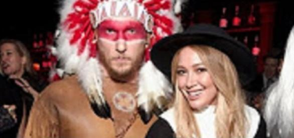 Source: Youtube channel The Young Turks. Hilary Duff sexy pilgrim costume wows as Jason Walsh Indian costume fails