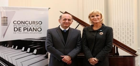Mauricio Guzmán y Catalina Lonac (Un. San Pablo-T)