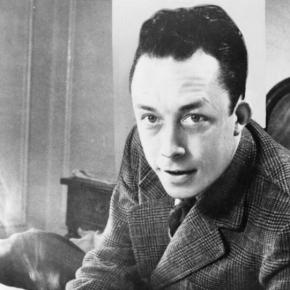 Albert Camus, gagnant de prix Nobel, Photograph by United Press International, Library of Congress, 1957.