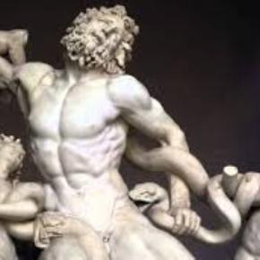 "Michelangelo's ""Laocoon and his Sons"" youtube.com Creative Commons"