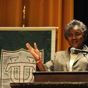 "Wkimedia: Featured Speaker Donna Brazile: ""Finding Ourselves: The Direction of the Black Academic"" March 28, 2011"