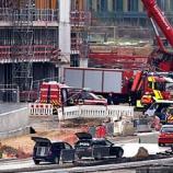 Acidente ocorreu em obra de construção de um centro comercial do grupo Auchan