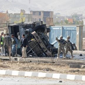 12 Americans Killed as Suicide Bomb Hits Bus in Afghanistan - The ... - nytimes.com