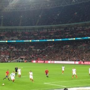 England vs Spain at Wembley photo was taken by me at Wembley Stadium on November 15