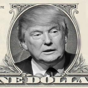 Donald Trump ganará un dólar de sueldo