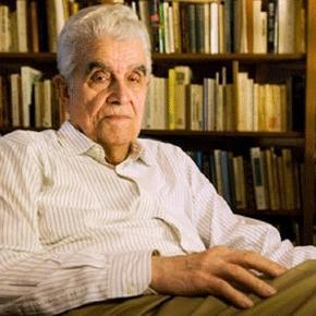 Le littéraire et anthropologue René Girard (photo Stanford Univ.)