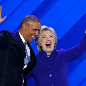 Obama lauds Clinton, paints optimistic vision at Democratic ... - pressherald.com
