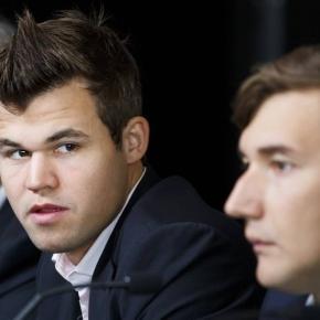 Schach-WM in New York: Nach sechs Spielen ist weiterhin zwischen Magnus Carlsen und Sergey Karjakin alles offen.