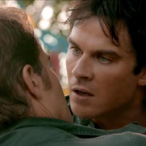 The Vampire Diaries 8x05: Stefan tenta parar Damon (Foto: CW/Screencap)