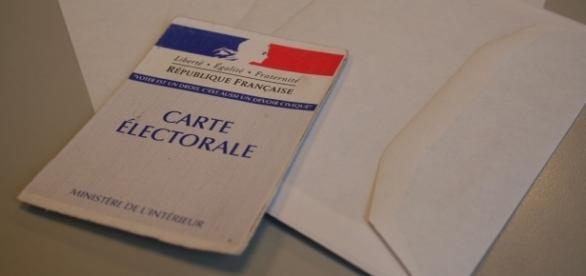 Carte électorale de la République Française.