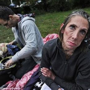 A trăit într-un apartament de 10 milioane de dolari, dar acum doarme în parc