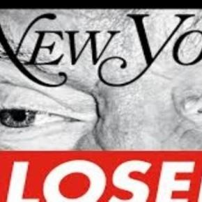 Barbara Kruger's election issue cover for New York Magazine. Mymag.com Creative Commons