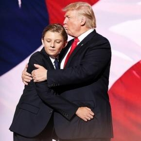 opinion barron trump difficult time with campaign fuels autism questions