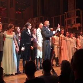 Hamilton actor lectures VP-elect Mike Pence/Photo via The Daily Beast