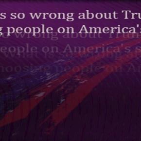 Trump is choosing his team of loyal Americans/Artwork by Samuel Earl Di Gangi