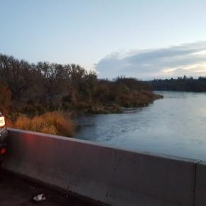 An Idaho man is lucky to be alive after getting knocked off bridge, into Snake River after a crash. -- Oregon State Police