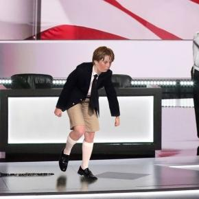 Barron Trump is only 10 and he's gone from a very private life into America's new infatuation! Photo: Blasting News Library - theonion.com