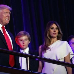 Melania, Barron Trump won't move to White House until after school ... - bostonglobe.com