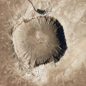 Meteor Crater (Arizona) Courtesy Pixabay, CCO public domain
