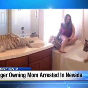 Texas mother who shared house with TIGERS is charged with child ... - thesun.co.uk