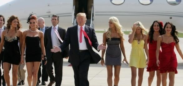 Actions speak louder than words? Trump: 'Nobody respects women more than I do' (Picture credits - dailykos.com)