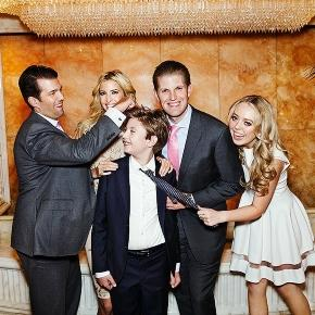 Barron Trump is the youngest of Donald Trump's kids. Photo: Blasting News Library - pinterest.com