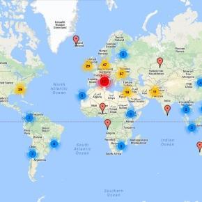 Harta interactivă cu secțiile de vot din diaspora