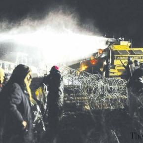 ACLU blasts police use of water cannon at Standing Rock pipeline protest. Calls for federal investigation. - myhealthbowl.com
