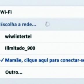 Nomes de redes WI-FI diferentes