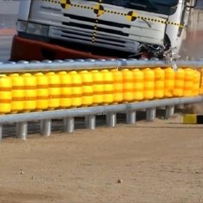 Novo guard-rail evita que veículo volte desgovernado para a pista