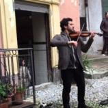 Davide Laura, il violinista di strada che volò alla Scala