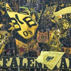 Borussia Dortmund fans once again prove their brilliance with epic ... - mirror.co.uk