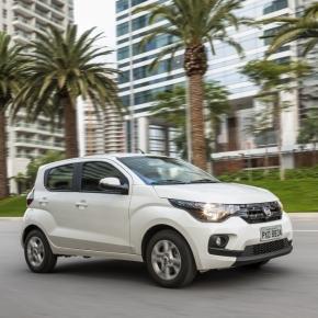 Fiat Mobi Drive 1.0, que chega com motor de três cilindros e promessa de maior economia; completo, modelo sai por quase R$ 46 mil