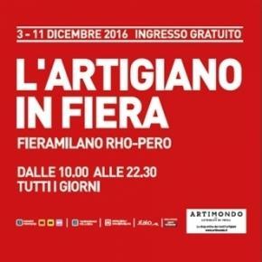 L'Artigiano in Fiera 2016 a Milano