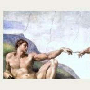 Michelangelo's Sistiine Chapel ceiling painting (detail) northfieldum.org Creative Commons