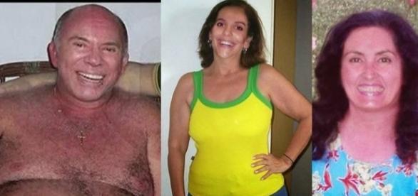Silvio Santos, Ivete e Fátima Bernardes com a aparência que teriam se fossem pobres