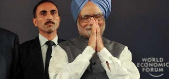 Former Indian prime minister Manmohan Singh / Photo Via World Economic Forum, Flickr