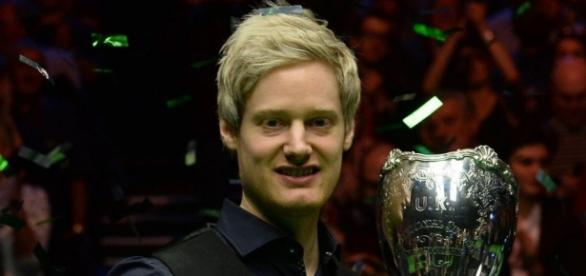 Neil Robertson gets a Christmas bonus with maximum break in UK ... - dailyrecord.co.uk