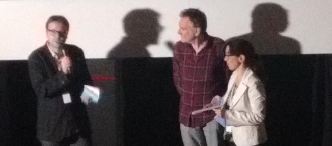 La proyección de 'Octobre' contó con la presencia de su director