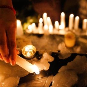 Advocates mourn loss of abuse victims on White Ribbon Day. Photo from Blasting News Library