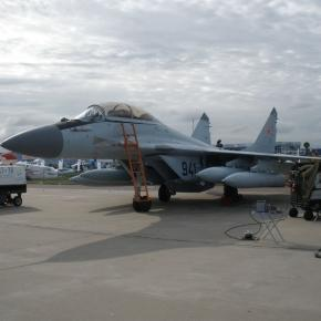 MIG 29 K via Wikipedia Commons.