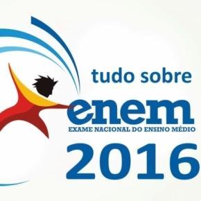 ENEM 2016 Imagem retirada da Internet