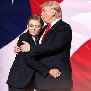 Barron Trump was the subject of Rosie O'Donnell's tweet and despite backlash, she stands by her comment. Photo: Blasting News Library - people.com