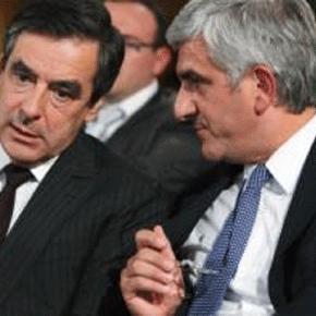 François Fillon et Hervé Morin, du Nouveau Centre