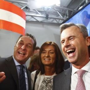 Norbert Hofer (FPÖ) re. hat gute Wahlchancen.