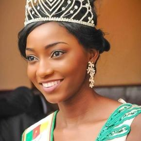 Julie Cheugueu Ngumfack Miss Cameroun 2016