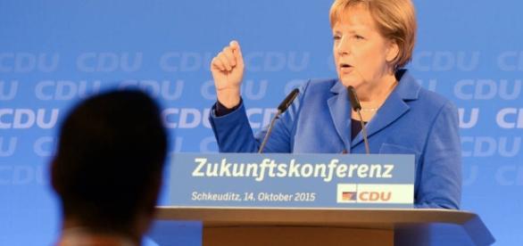 Chancellor Angela Merkel's Party Bridles at Her Open-Door Migrant ... - wsj.com