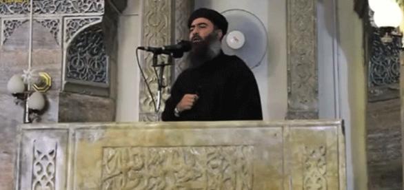 L'une des rares vidéos du « calife » de Daesh. Un enregistrement audio lui étant attribué a été diffusé mercredi